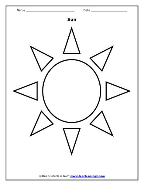 Sun Black Outline by Simple Sun Outline