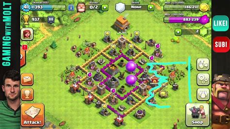 clash of clans th6 farming base quotes clash of clans th6 base reviews youtube
