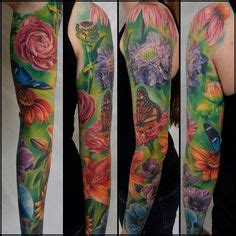 tattoo shops in lawrence ks bright girly sleeve by martin ian ink www