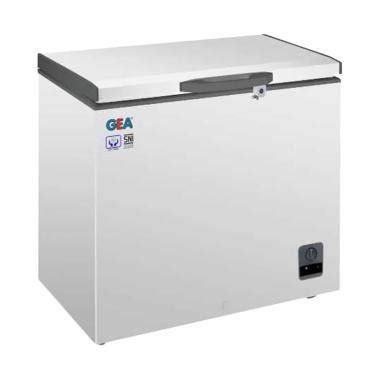 Chest Freezer Gea Ab 300 jual gea ab226r chest freezer 1 door harga