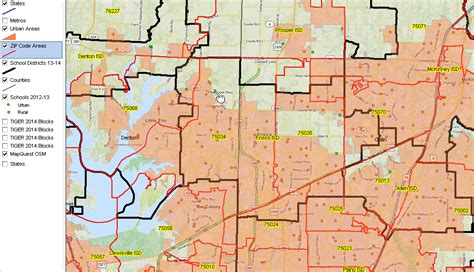frisco texas zip code map zip code rural geography demographics