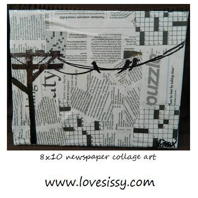 decoupage with newspaper clippings decoupage with newspaper clippings 28 images decoupage