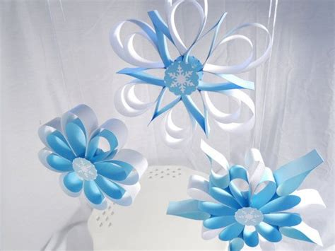 snowflake themed decorations best 20 winter decorations ideas on