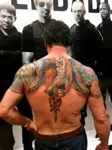 De informaci 243 n sylvester stallone backpiece done by jeff gogue