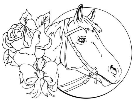 Coloring Pages Of Beautiful Horses | beautiful horse coloring pages coloring pages for girls
