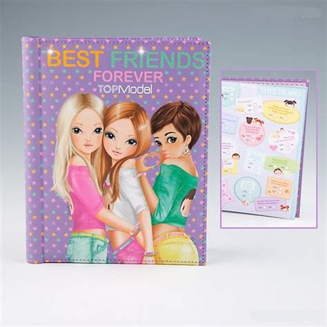best friends forever books topmodel best friends forever scrap book by depesche new