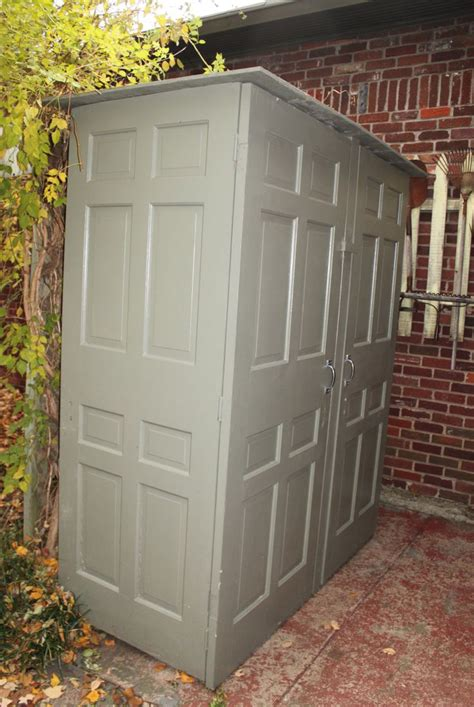 Shed Made From Doors by Locksmith Hardware With New Uses Idn Inc