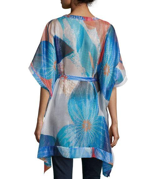 Hem Batik Tulis A 31 Arpo diane furstenberg floral print shimmer caftan batik land large print
