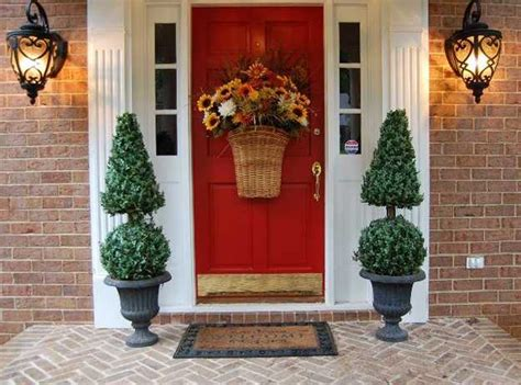 Painted Front Door Ideas Exterior Wood Door Decorating With Paint To Personalize House Design And Feng Shui Homes