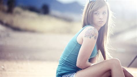 tattooed chicks tattooed wallpaper