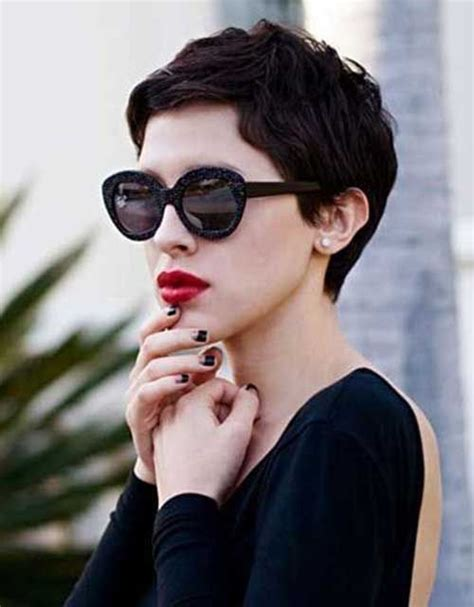 tapered pixie haircut 35 best haircuts for manageable thick hair of any length
