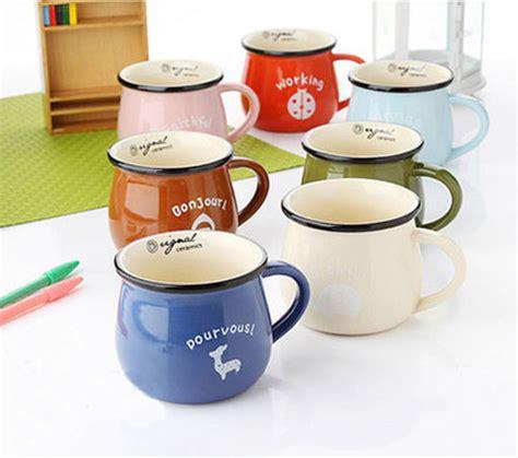 Mug Biru Tua promo spesial mug keramik vintage warna warni dengan rp 54 000 hanya di ogahrugi