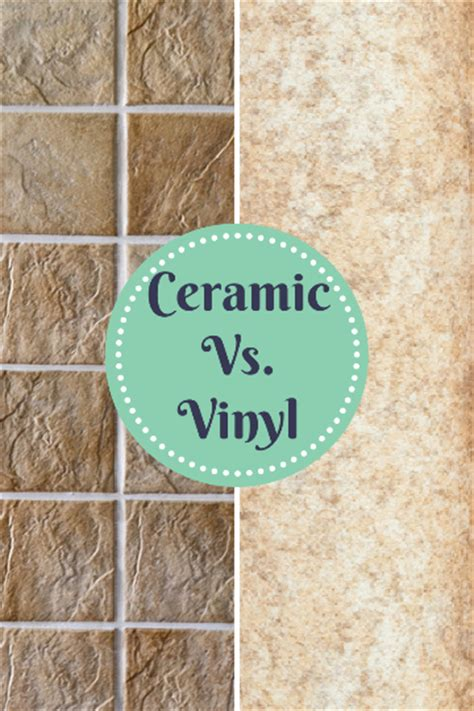 ceramic tile vs vinyl tile flooring