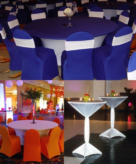 table covers for rent linen rentals weddings spandex