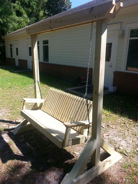 heavy duty patio swing custom built wood porch swing heavy duty made with