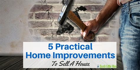 5 practical home improvements to sell a house