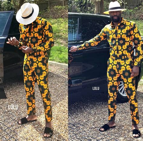 Simple Ankara Style For Male