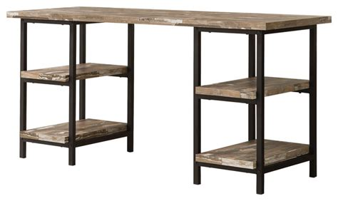 industrial desk with hutch skelton rustic writing desk industrial desks and