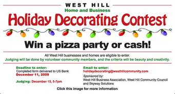 Christmas Decorating Ideas For Office Contest How To Run A Neighborhood Christmas Decorating Contest