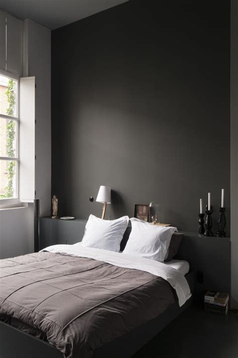 dark bedroom walls ideas  pinterest modern