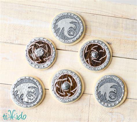 viking crafts for viking shield sugar cookies family crafts