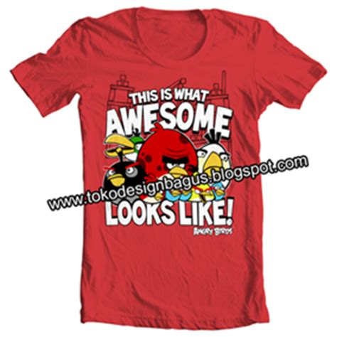 Kaos Distro Guess 3 kaos angry birds desain kaos desain t shirt desain