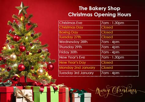 carrs pasties christmas opening times