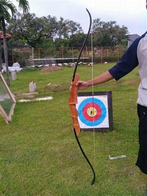 Busur Panah Longbow Jual Busur Panah Recurve Bow Guroba Archery