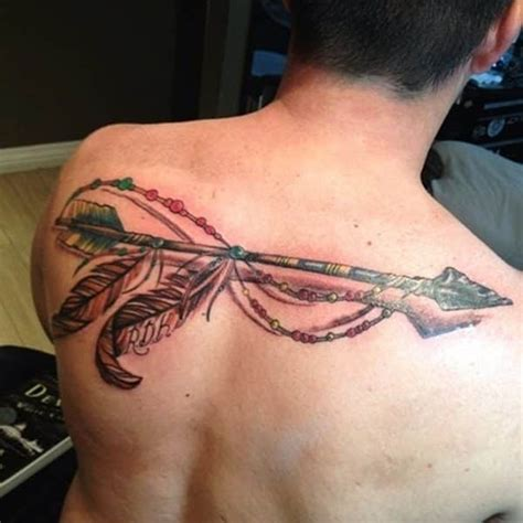 oliver queen tattoo back arrow tattoos for men inspiration and ideas for guys