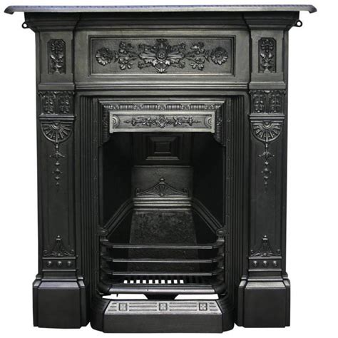 victorian cast iron bedroom fireplace antique late victorian cast iron bedroom fireplace for
