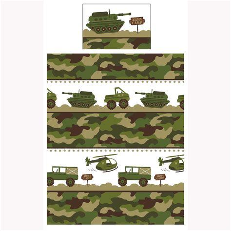 Housse De Couette Militaire by Arm 201 E C 4 En 1 Ensemble De Literie Junior Housse