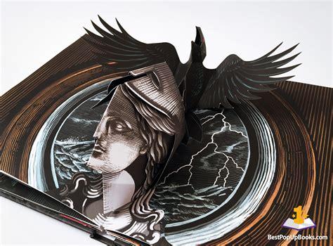 the raven a pop up pop up book gallery best pop up books