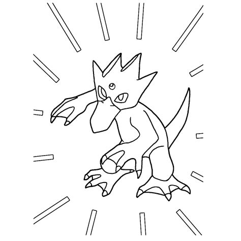 pokemon coloring pages golduck golduck coloring pages for kids