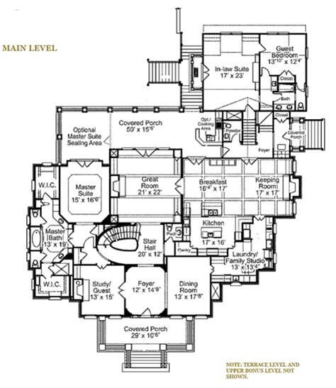 Eplans Ranch by 6000 Square Foot House Plans One Level