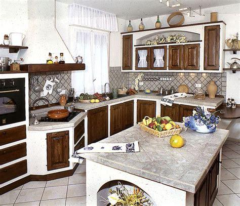 piastrelle rustiche per cucina 30 cucine in muratura rustiche dal design classico