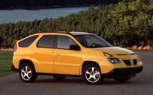 2001 Pontiac Aztek 2001 Pontiac Aztek Front Three Quarter Photo 3