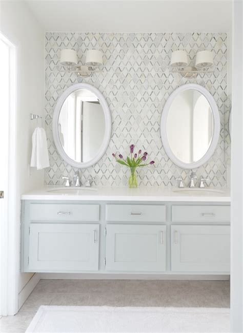 Bathroom Tile Makeover by Master Bathroom Vanity Makeover Centsational Style