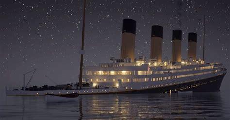 imagenes reales del hundimiento del titanic este v 237 deo de 3 horas muestra en tiempo real el