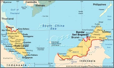 kumpulan gambar peta negara malaysia gambar peta