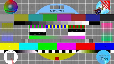 test pattern lcd tv test pattern monitor calibration chart youtube