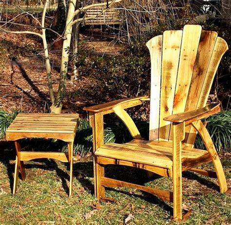 Reclaimed Wood Adirondack Chairs Reclaimed Pallet Adirondack Chairs Pallet Wood Projects