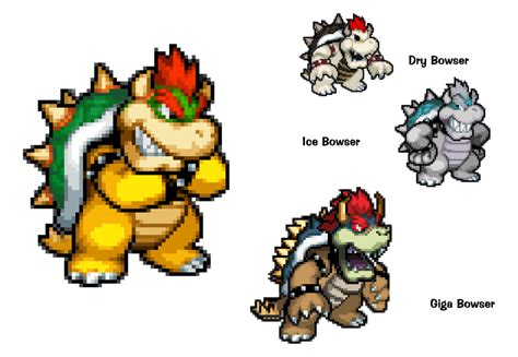 bowser s smbhots bowser s forms by kingasylus91 on deviantart