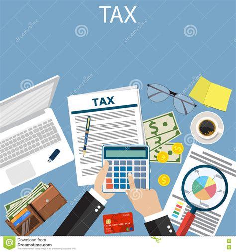 impuestos impuestos y ms impuestos pago de impuestos impuestos estatales ilustraci 243 n del