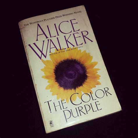 the color purple book my thoughts about the color purple by walker book