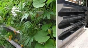 Vertical Vegetable Gardening Systems Vertical Vegetable Garden Rises In Style Gardens