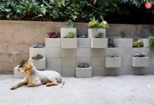 Cinder block outdoor diy projects 187 curbly diy design community