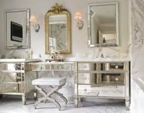 mirrored bathroom vanity cabinets the granite gurus vintage style calacatta gold marble