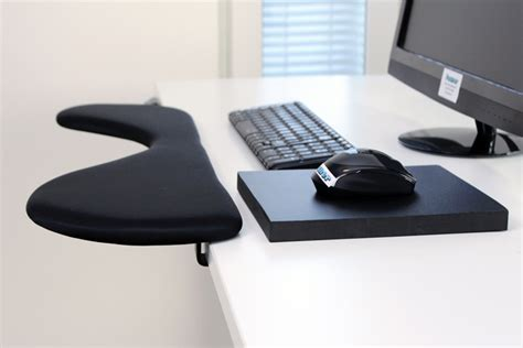computer desk rest forearm support computer arm rest with ergonomic mouse pad