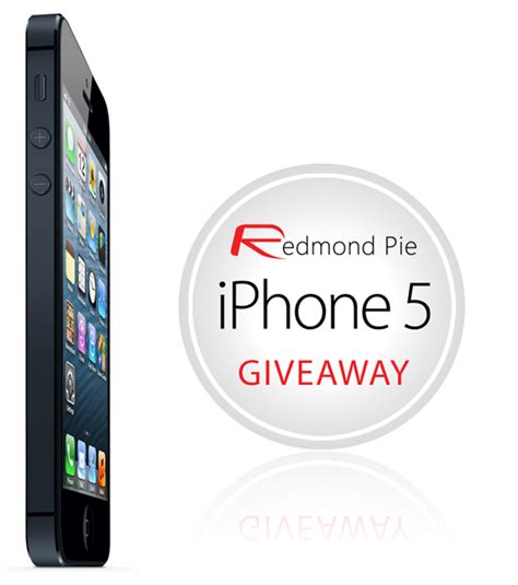 Apple Iphone 4s Giveaway - iphone 5 giveaway redmond pie