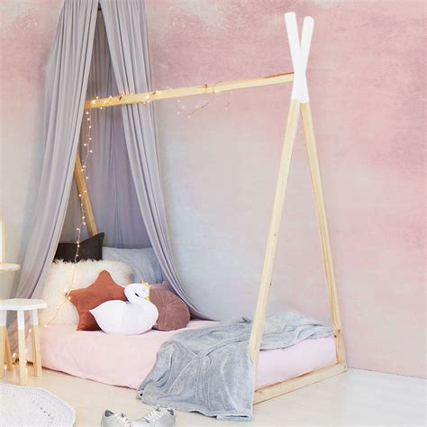 teepee bed solid pine teepee bed with a frame clever little monkey